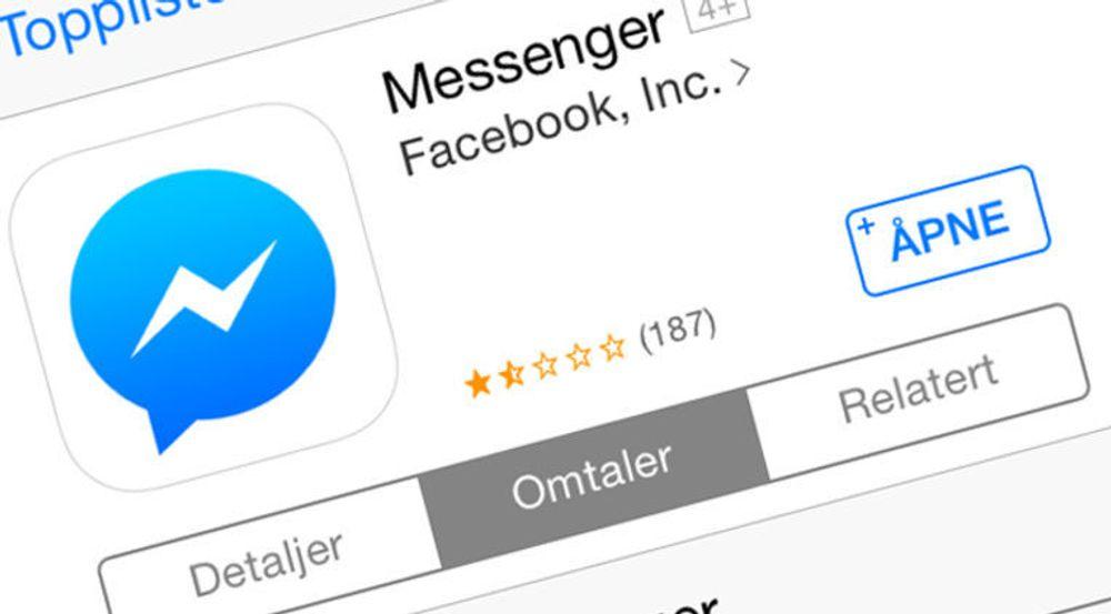 Facebook får slakt for app-tvang