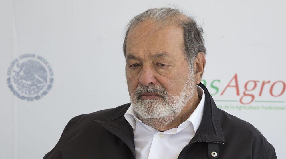 Carlos Slim har kontroll over 70 prosent av mobilmarkedet i Mexico.