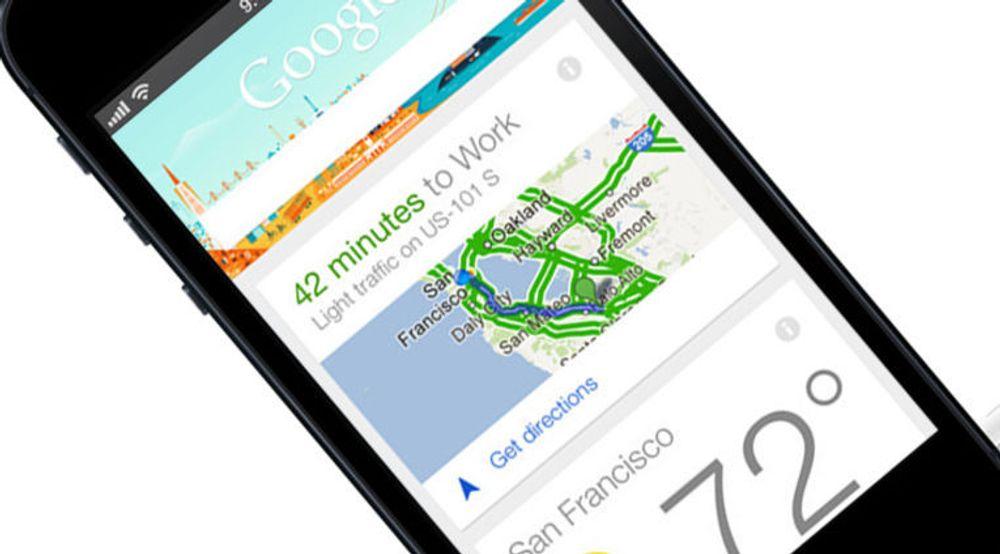 Google Now tilbyr brukerne oppdatert informasjon om steder og hendelser, basert brukerens posisjon, avtaler og annet som brukeren har delt med Google. Nå har tjenesten blitt tilgjengelig gjennom Googles søkeapplikasjon for iPhone og iPad.