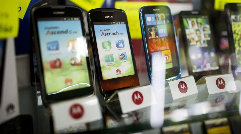 Kinesiske mobilleverandører som Huawei og ZTE opplevelser kraftig vekst i leveransene av smartmobiler og tar betydelige markedsandeler fra tradisjonelle leverandører som Nokia, Sony, HTC og RIM/BlackBerry.