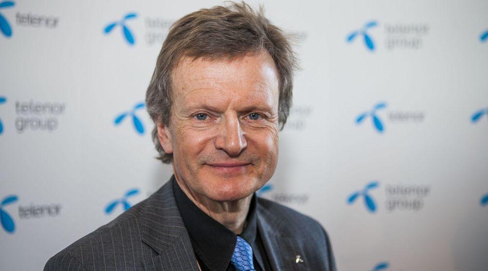 Jon Fredrik Baksaas mener de underliggende trendene som avgjør Telenors videre utvikling er positive. I første kvartal var omsetningen svakere enn ventet, men marginene er bedre enn for et år siden.