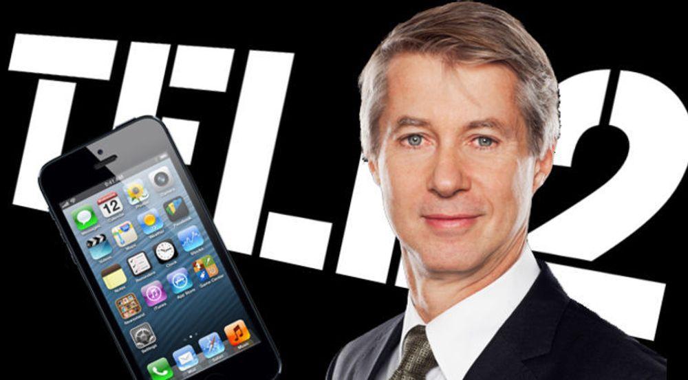 Tele2-sjef Mats Granryd er ikke akkurat fornøyd med Apple.