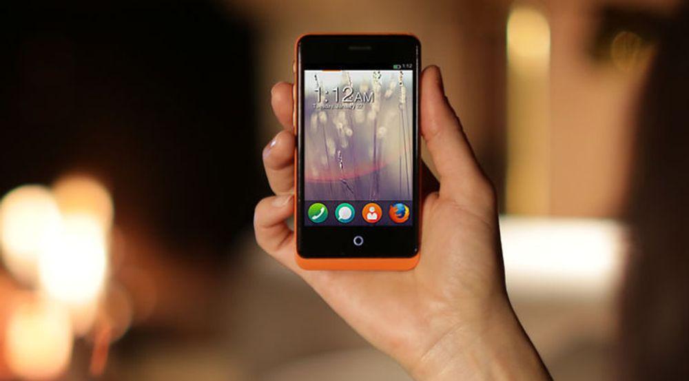 De første mobiltelefonene utstyrt med Firefox OS selges fra i dag.
