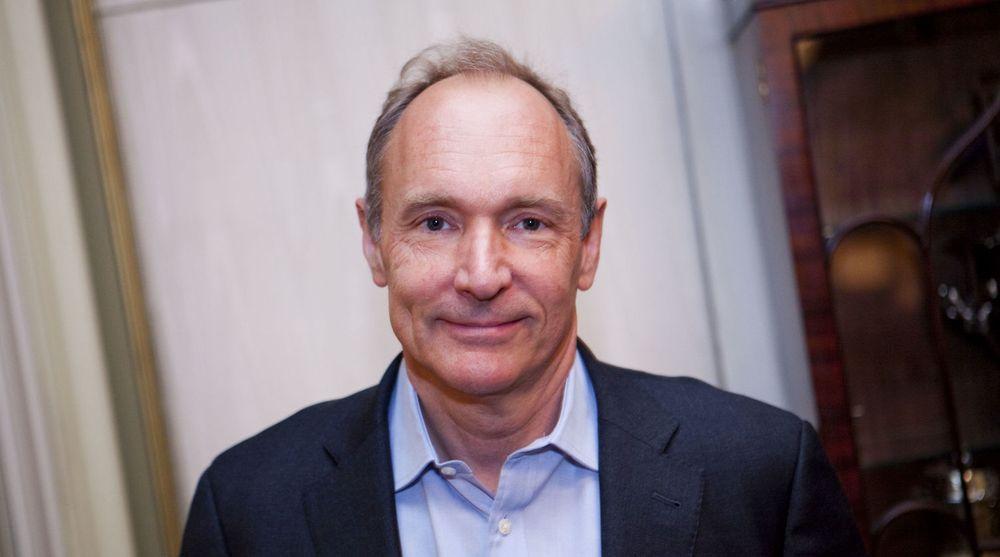 Webens far, Tim Berners-Lee, er ikke bare teknolog, men også en ivrig forkjemper for en på alle måter fri og åpen web. Her er en fotografert under et besøk i Norge.