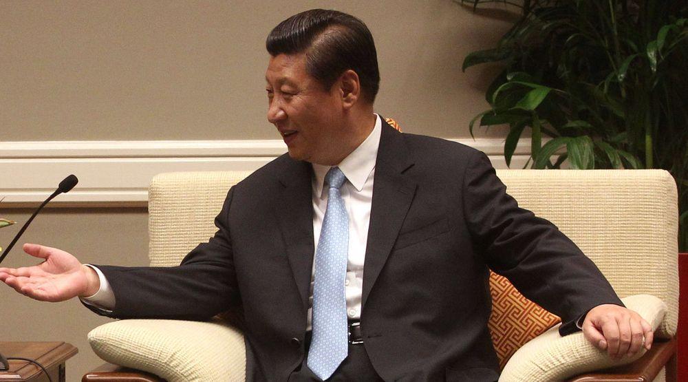 President Xi Jinping var i California fredag og lørdag for møter med president Barack Obama.