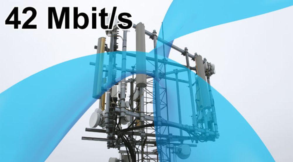 Telenor øker farten i 3G-nettet.