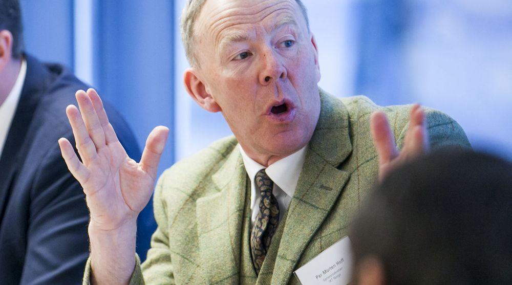 KJAPPERE: Per Morten Hoff mener at kommersielle telenett bør brukes til nødnett.