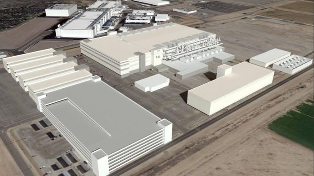 Intels hypermoderne anlegg for brikkeproduksjon i Arizona ligger brakk inntil videre.