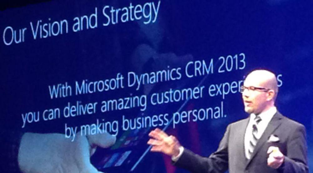 På Dynamics-kundesamlingen i Europa i fjor hamret markedssjef Fred Studer inn budskapet om at kundeopplevelse har første prioritet. Teknologien til Parature skal styrke denne delen av Microsofts CRM.