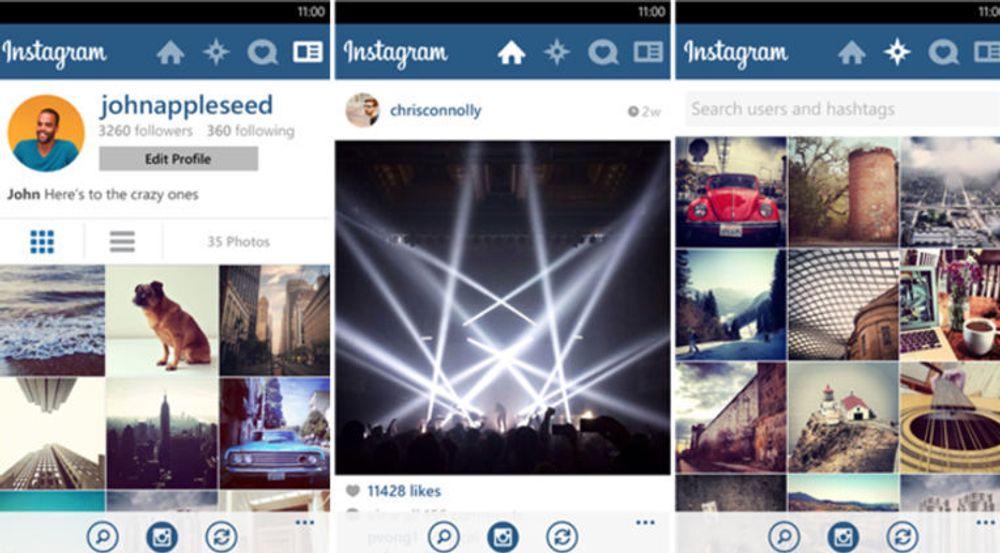 Microsoft kan juble over at Instagram omsider er klar for Windows Phone. Appen som lar brukere dele bilder og legge på ulike effekter brukes av minst 150 millioner brukere verden over.