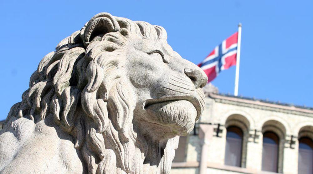 """Budsjettforliket mellom """"samarbeidspartiene"""" Høyre. Venstre, KrF og FrP, åpnet opp for å vurdere en støtteordring til inkubatorer."""