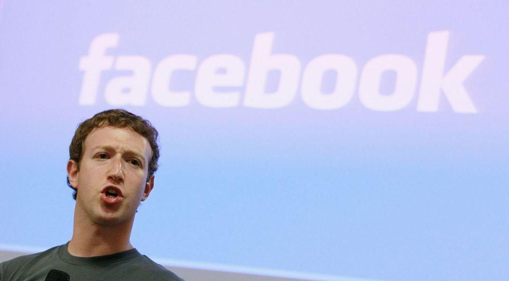 Facebook-gründer Mark Zuckerberg sier at 2015 var et stort år for det sosiale tjenesten.