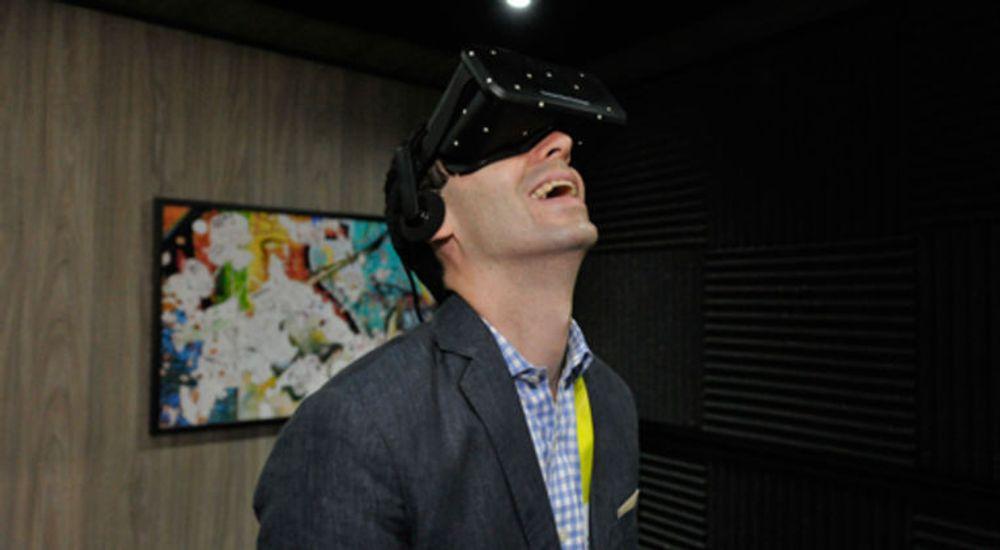 Det nye Crescent Bay-headsettet egner seg glimrende til interaktive filmer, mener Oculus.