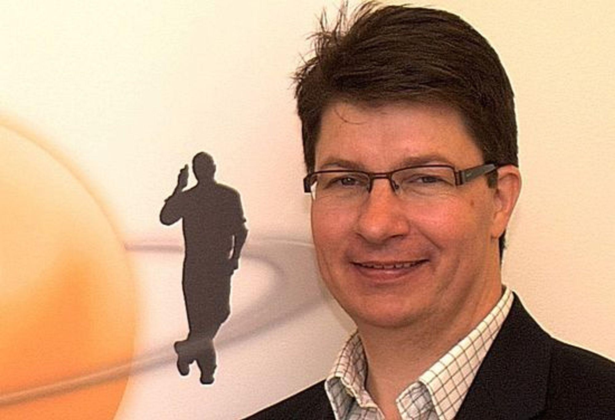 Group talk og toppsjef Magnus Hedberg måtte vente til 3G og 4G var mer utbygget før dees teknologi kunne tas i bruk.