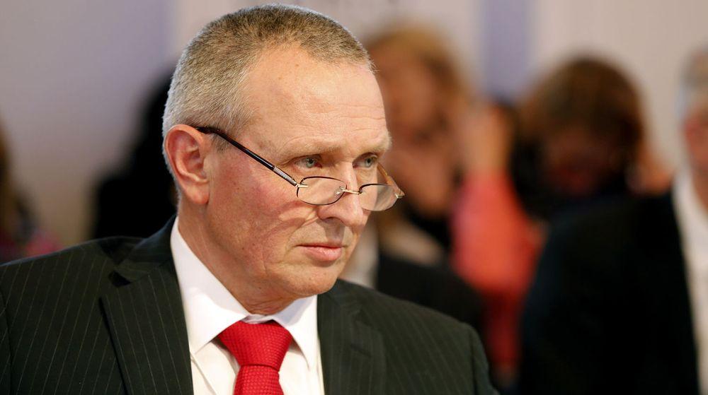 Sjef for etterretningstjenesten, generalløytnant Kjell Grandhagen deltok på debatt om sikkerhetstjenestene lørdag i Davos.