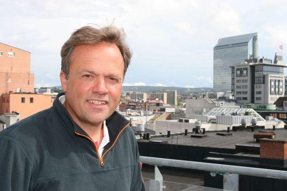 Bjørn Olstad leder Microsoft Development Center Norway og de 240 ansatte som har laget Office Graph og Delve ved kontorene i Oslo, Trondheim og Tromsø.