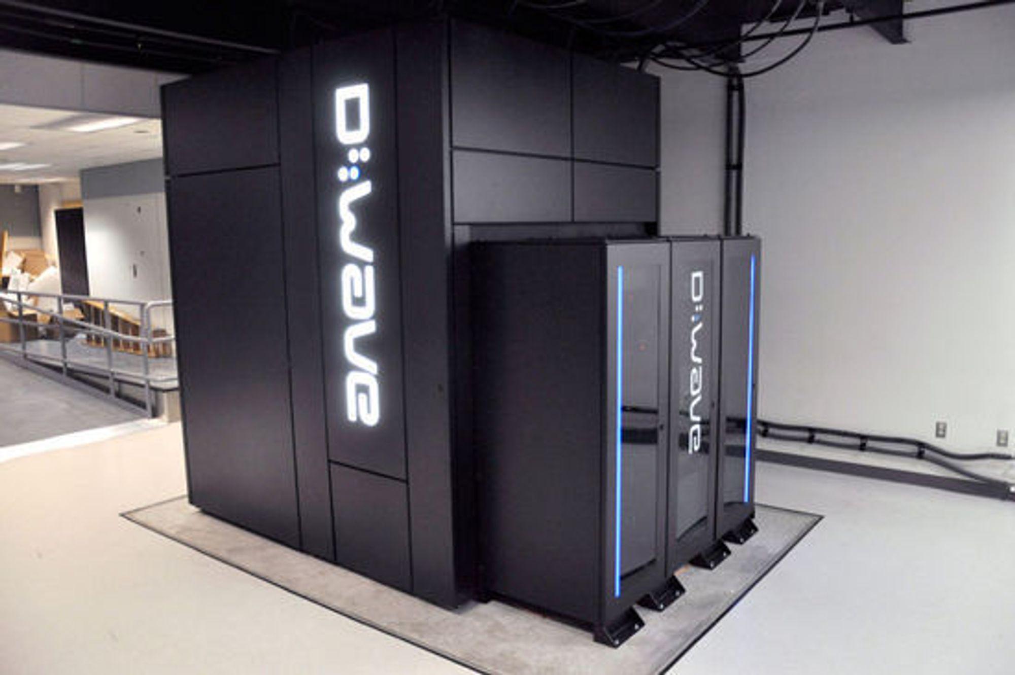 D-Wave-maskinen til NASA og Google.