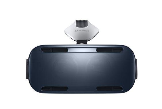 Fronten av Gear VR.