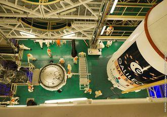 Galileo SAT 5-6 før oppskyting.
