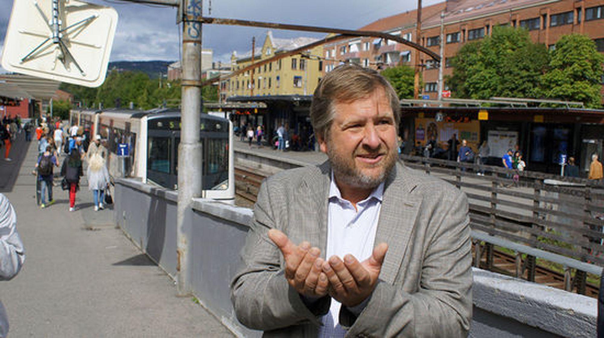Ruters Bernt Reitan Jenssen tror på at nett-dekningen vil løfte kollektivtrafikken som helhet.