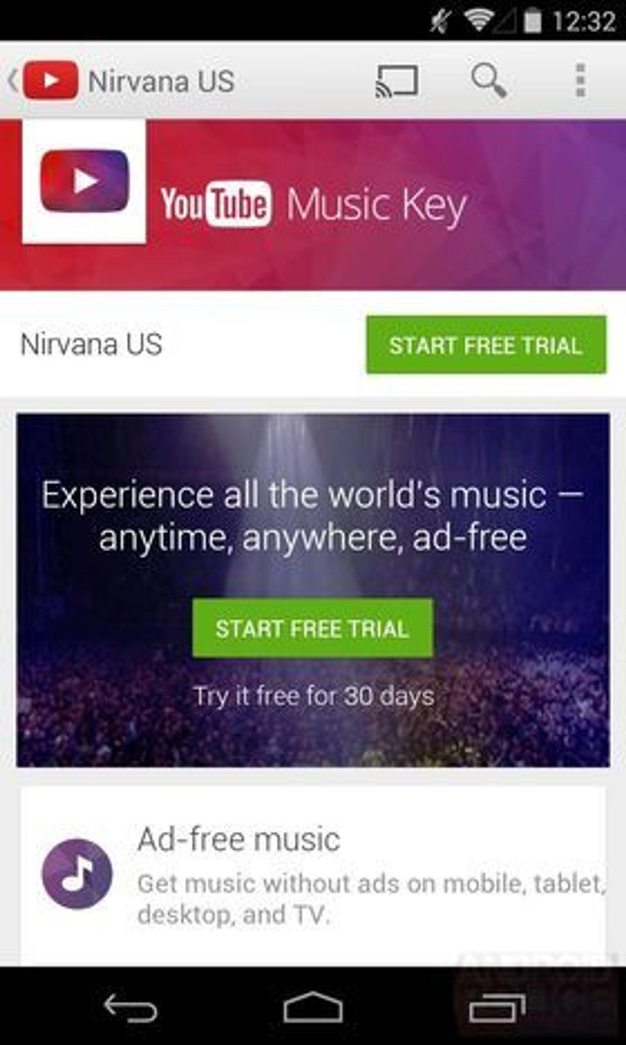 YouTubes massive musikkbibliotek vil bli tilgjengelig overalt.