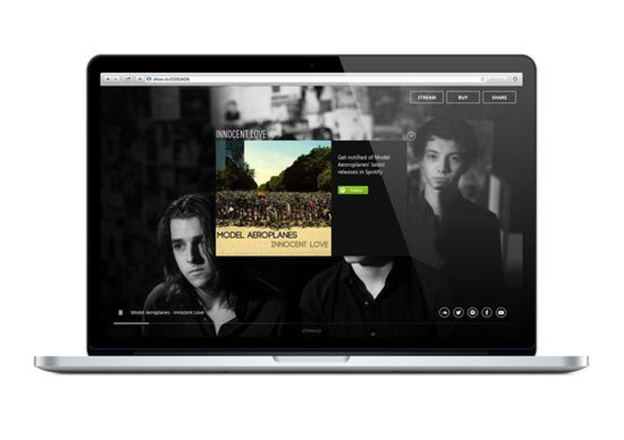 Slik ser kampanjen ut på web.