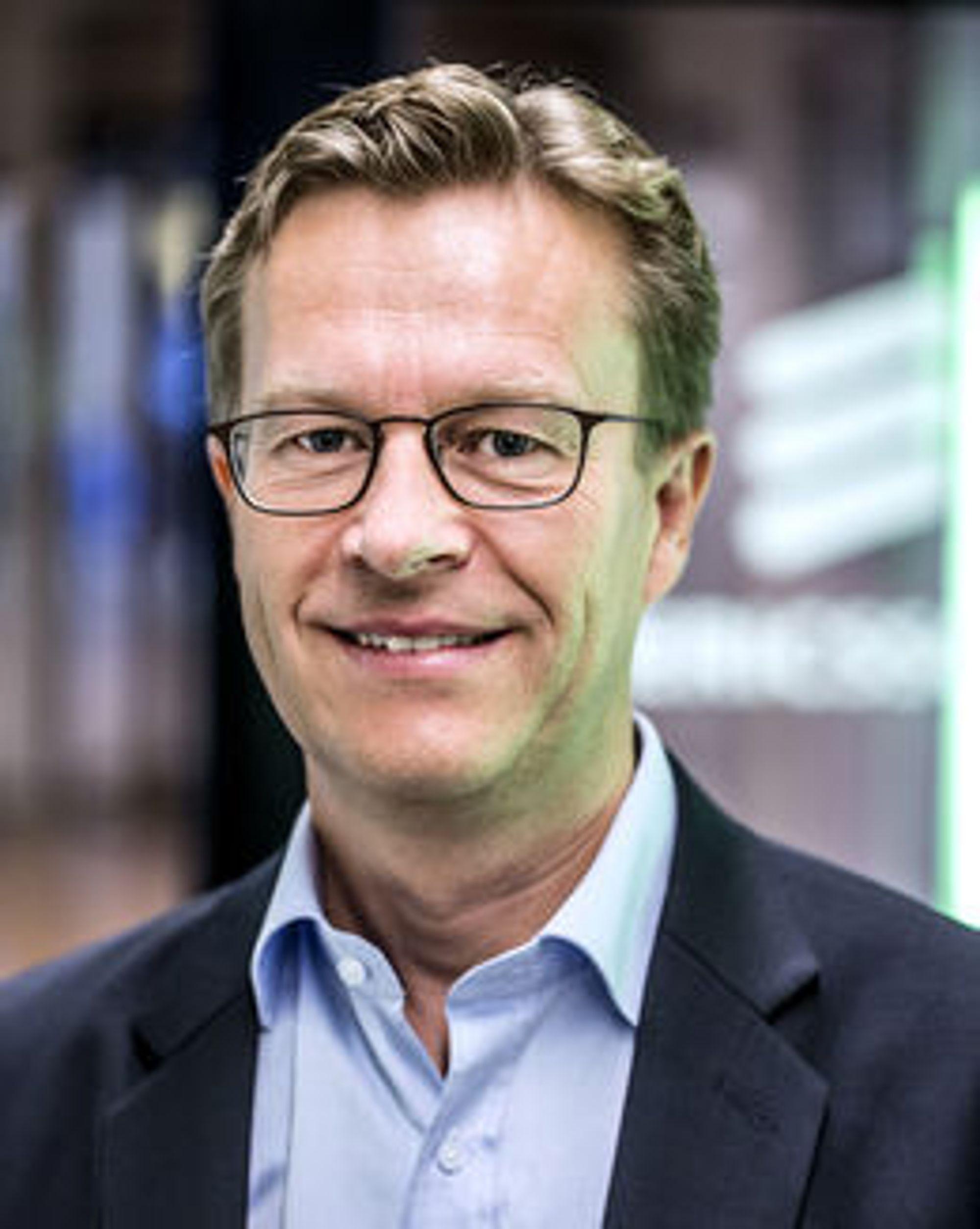 NORGE LIGGER FORAN: Adm. direktør for Ericsson i Norge, Aksel Aanensen mener Norge og Norden skiller seg ut fra ut fra Europa og ligger foran i utbygging og bruk av LTE.