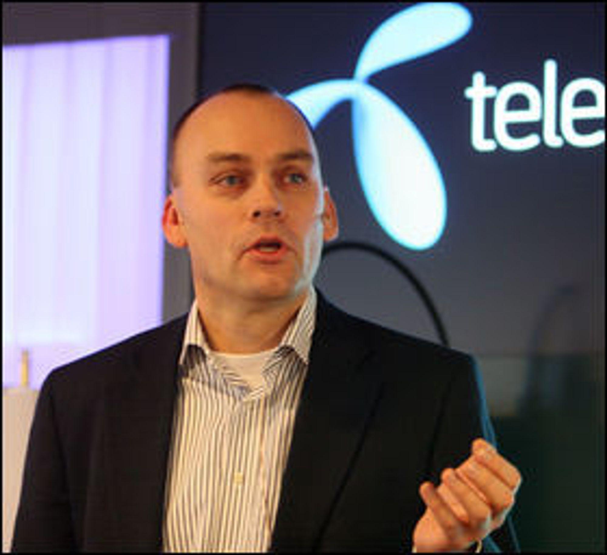 Bjørn Ivar Moen i Telenor Norge forteller om kraftig vekst i 4G-bruken.