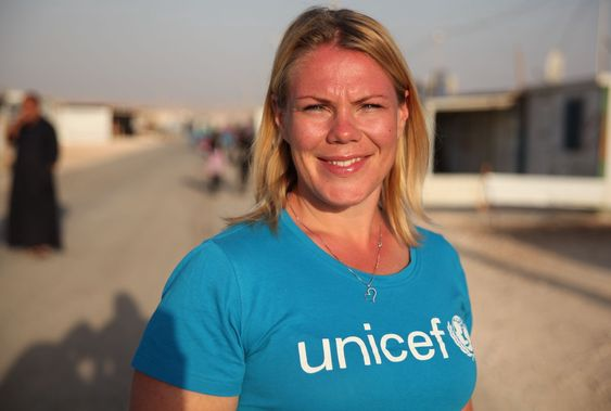 Kommunikasjonsrådgiver Helene Sandbu Ryeng hos Unicef Norge.