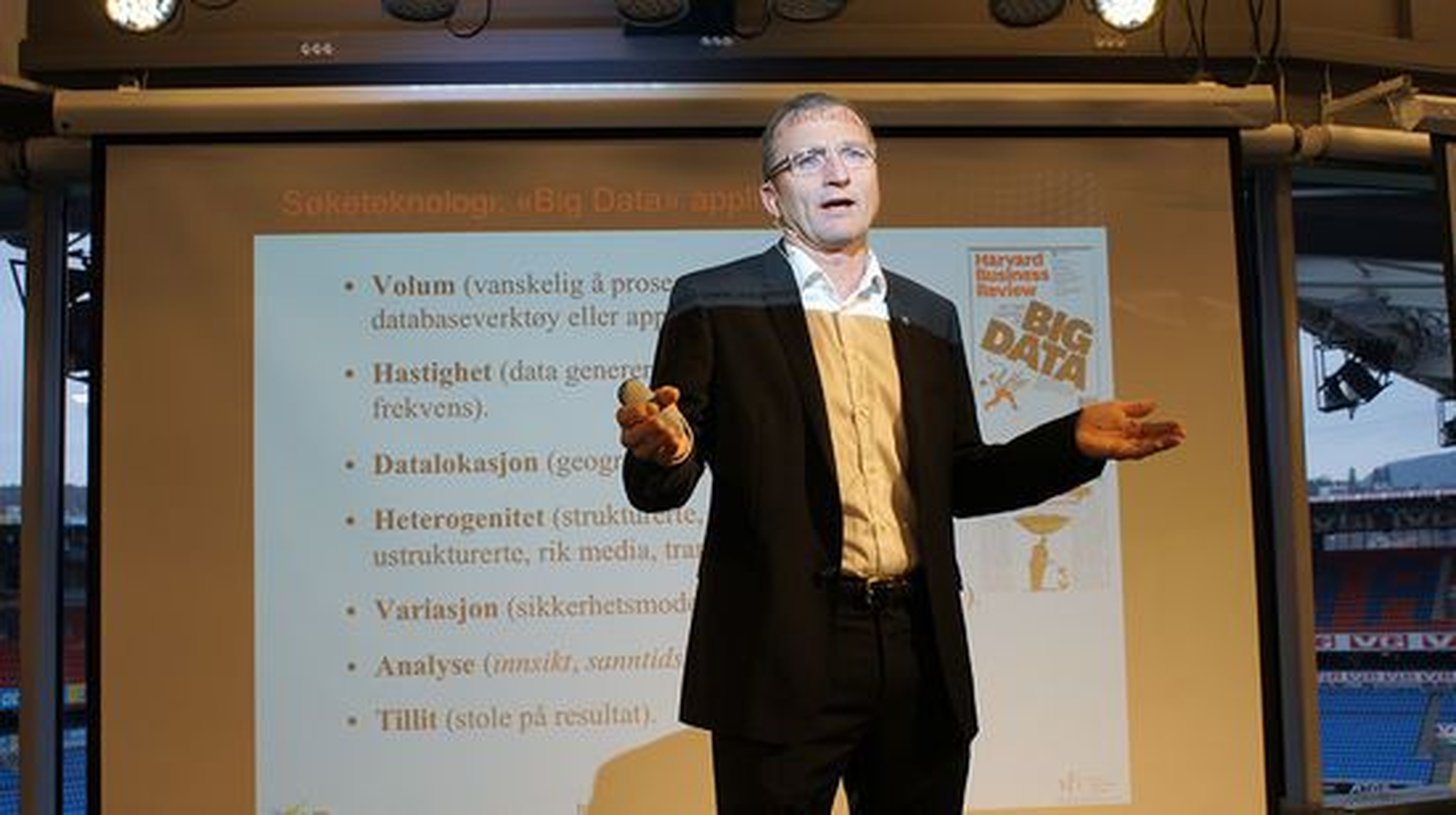 Big Data er fremtiden, sier Dag Johansen i iAD.