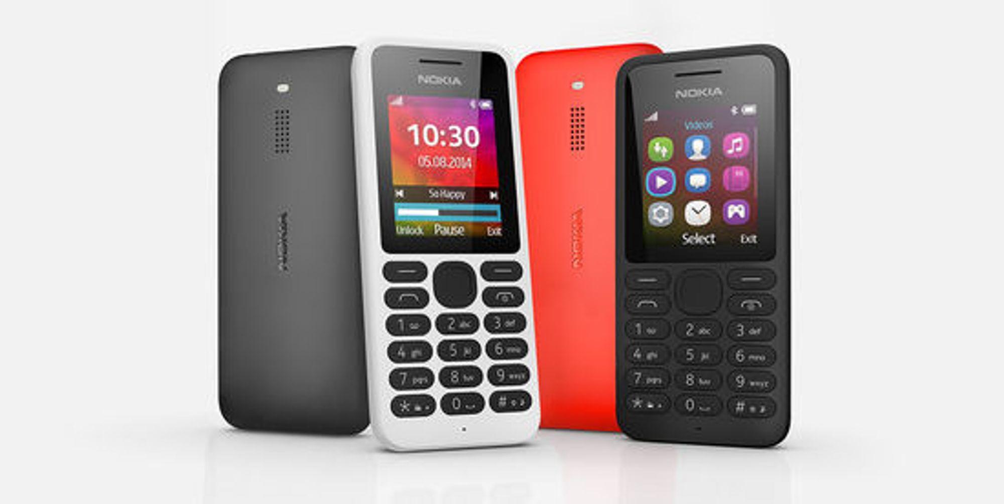 Rimelige «featurephones» som Nokia 130 vil fortsatt bruke Nokia-navnet.