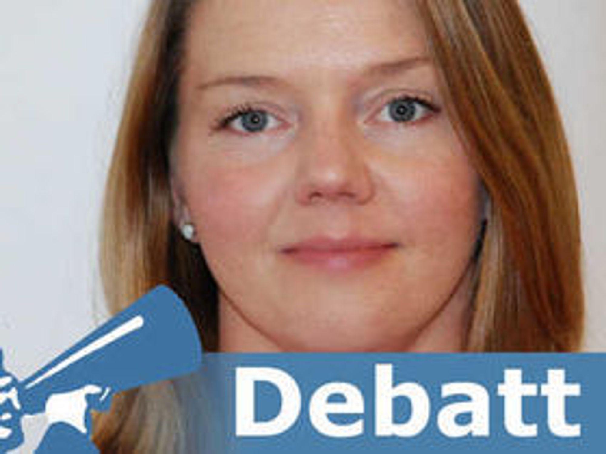 Lillian Røstad er seksjonssjef i Direktoratet for forvaltning og IKT (Difi).