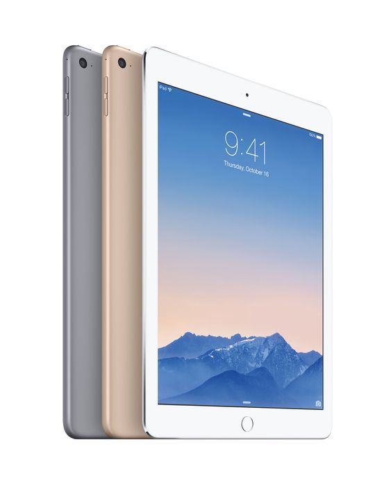 iPad Air 2 er tynnere, raskere og har bedre kamera, samt Touch ID-sensor.