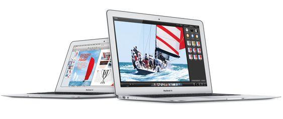 Ingen Retina-skjerm til MacBook Air denne gang, men det loves batteritid på inntil tolv timer, avhengig av modell.