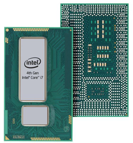 U-serien i Intels fjerde generasjons Core-prosessor har brikkesettet integrert i samme pakke.
