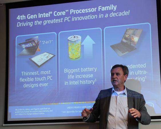 Jan Östling i Intel forteller om hva den nye generasjonen med Intel Core-prosessorer betyr for kommende pc-produkter