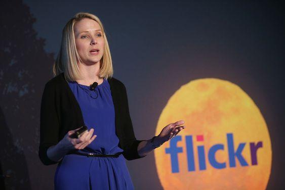 Yahoo-sjef Marissa Mayer fortalte om Flickr-nyhetene under et arrangement i New York. Der ble det også kjent at Yahoo kjøper Tumblr.