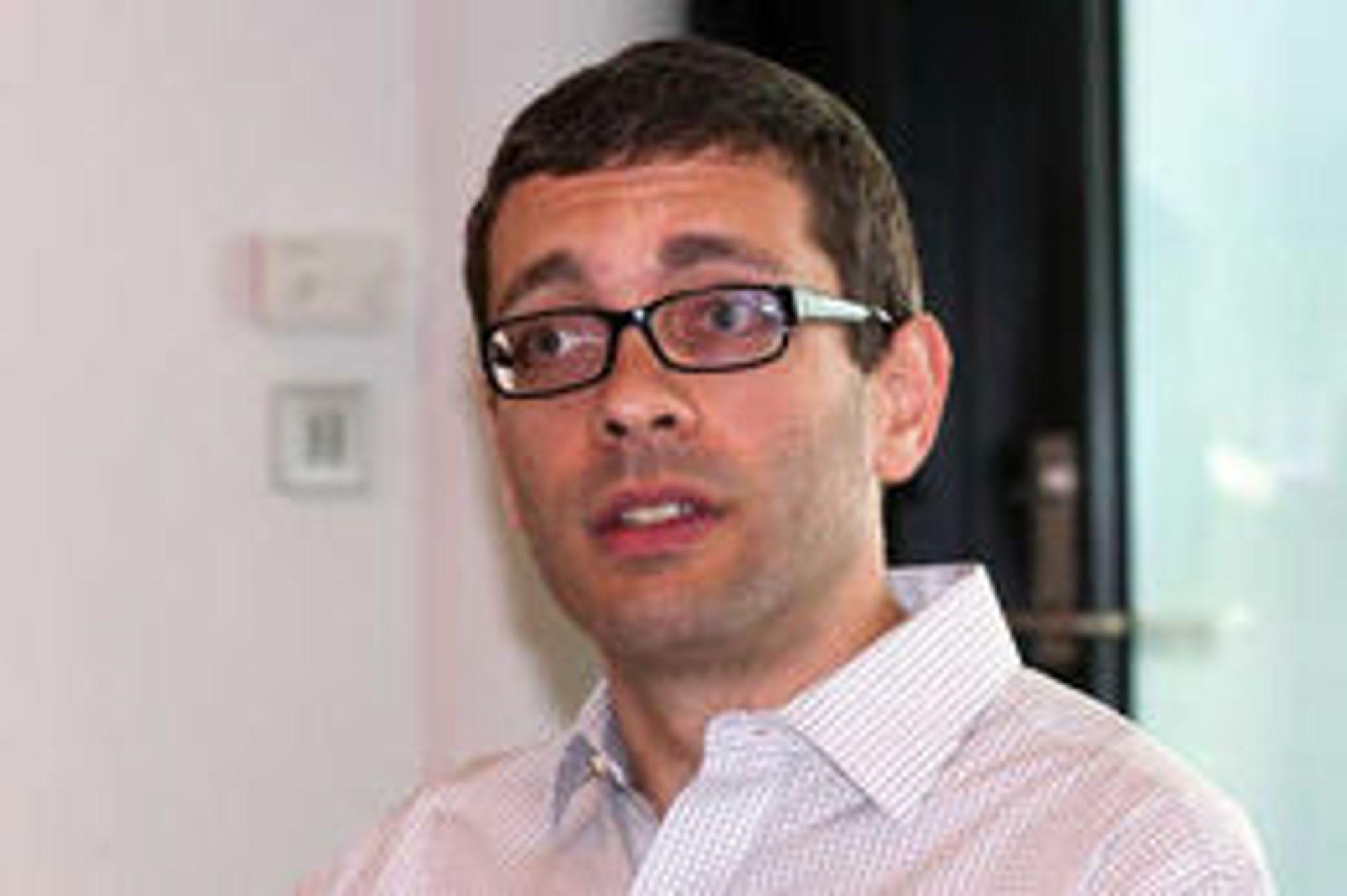 Andreas Gal er utviklerdirektør i Mozilla.