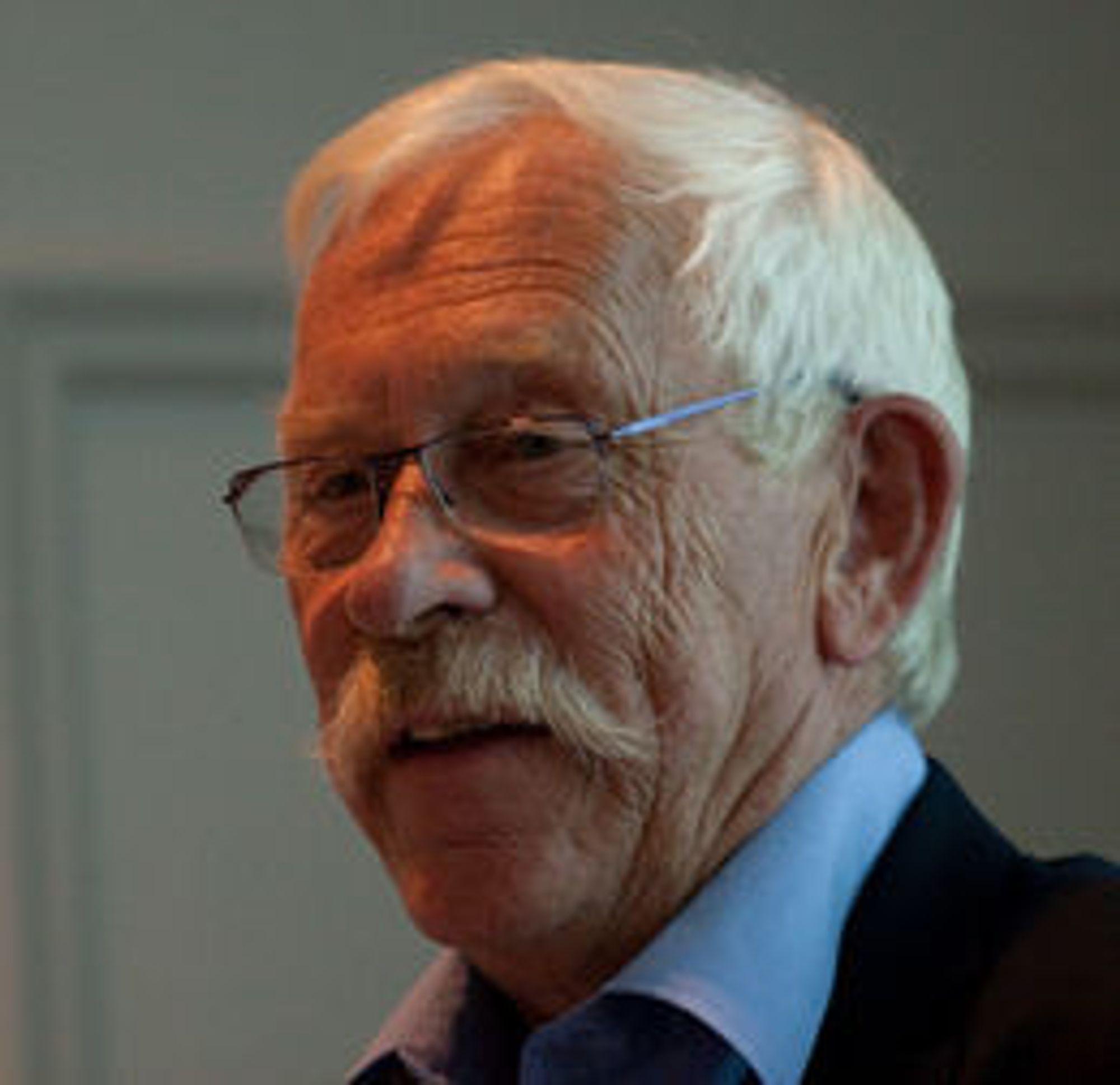 Lars Myraune i Høyre mener at Norge trenger raskere bredbånd. - Det vil vi bidra med på flere måter, sa han.