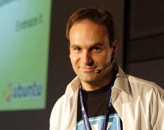 Mark Shuttleworth er grunnlegger av Canonical, selskapet som leder utviklingen av Linux-distribusjonen Ubuntu.