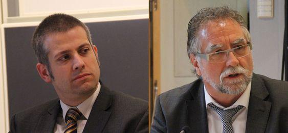 Carl-Christian Buhr (tv) og Wolfgang Boch representerte EU-kommisjonen under forrige ukes grafénarrangement i Gøteborg.