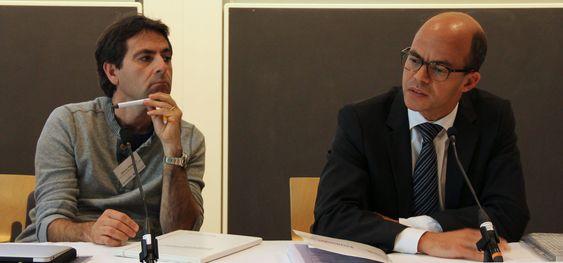 Vittorio Pellegrini og Bengt Fadeel snakket om både potensielle muligheter og potensielle utfordringer ved bruk av grafén.