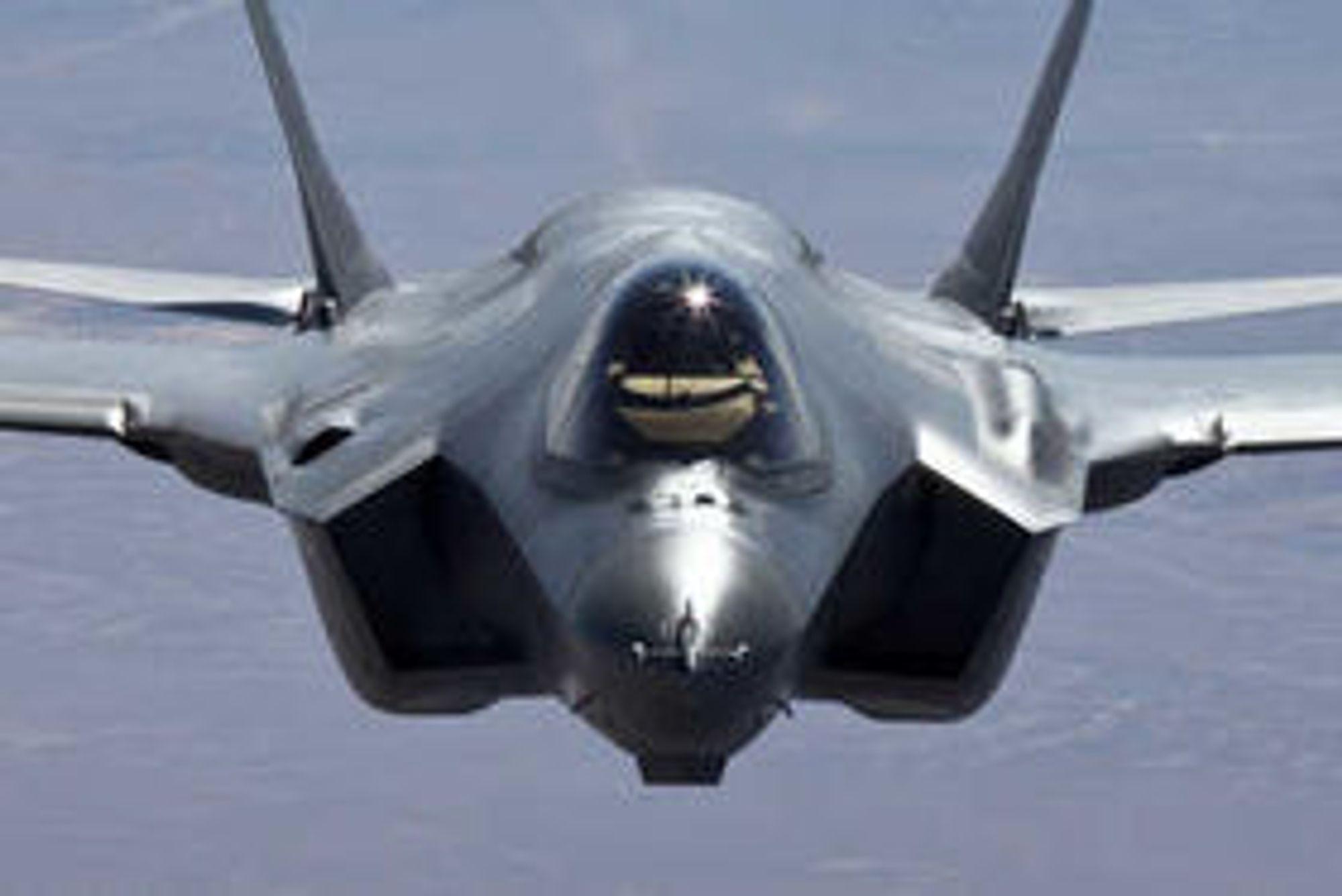 Norge skal etter planen få sine første F-35 (modell A) levert i slutten av 2017. Kildekoden sitter imidlertid USA på.