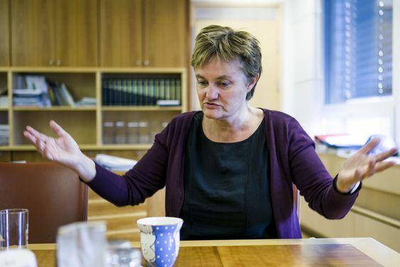 – Tenk om jeg skulle styrt IT i Nav, mens arbeidsminister Anniken Huitfeldt skulle styrt faget i Nav? Det hadde ikke gått, sier Rigmor Aasrud.