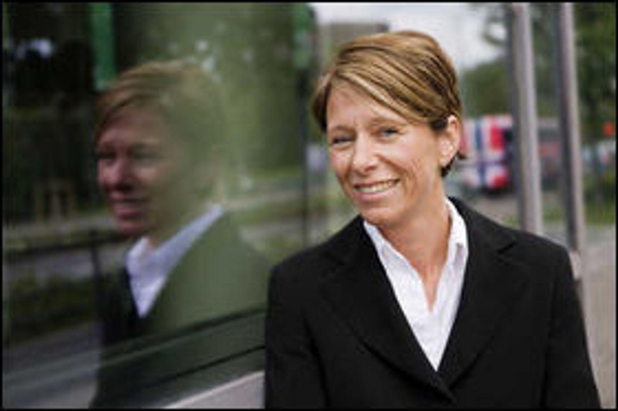 Liv Fiksdal, som leder DNBs IT-operasjoner, har inngått en 21 år lang avtale med Green Mountain.