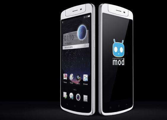 Oppo N1 CyanogenMod Edition blir verdens første smartmobil som leveres med CyanogenMod ferdig installert.