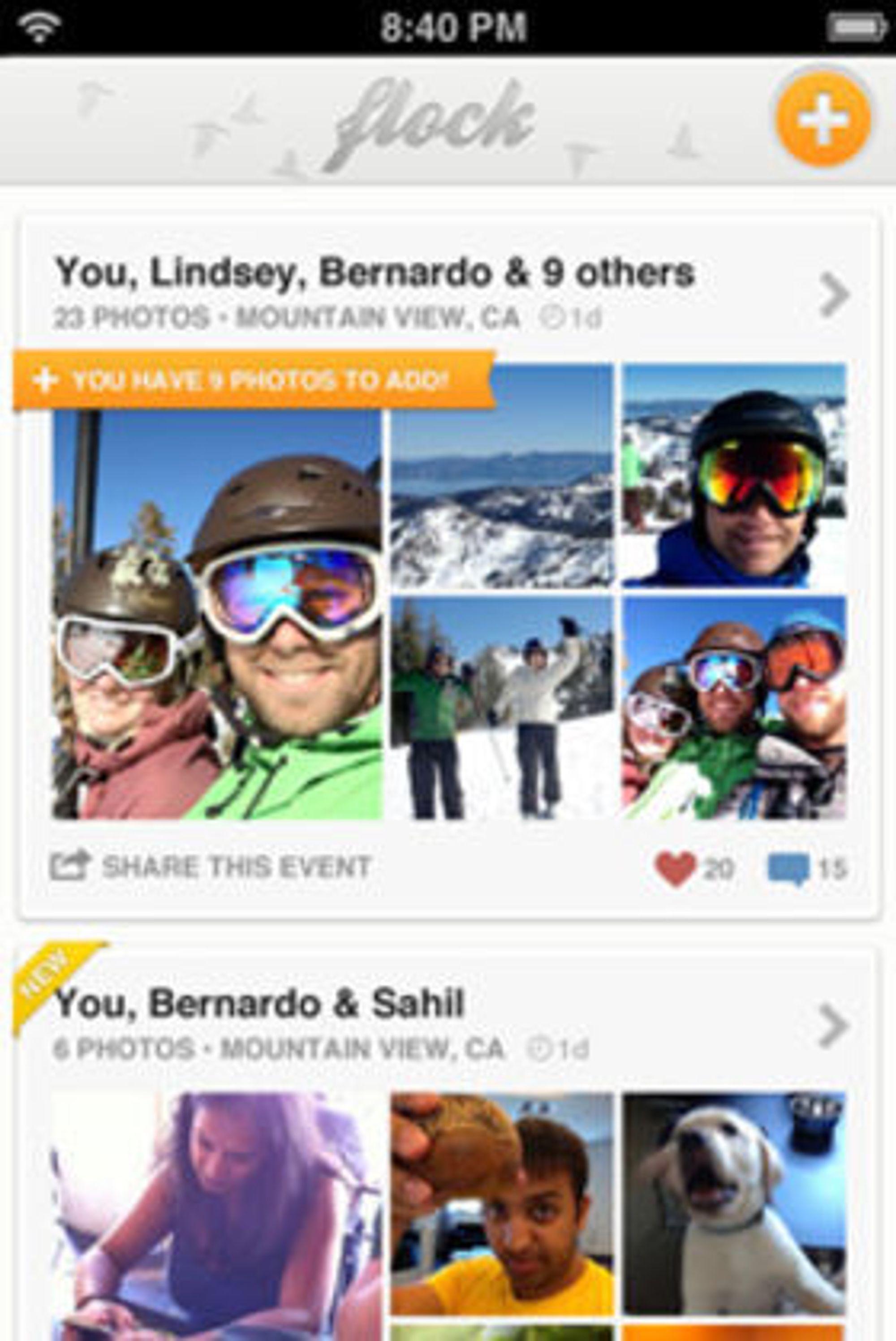 Bildetjenesten Flock ble lansert i fjor. Det kan være denne tjenesten Google er mest interessert i, spekulerer TechCrunch.