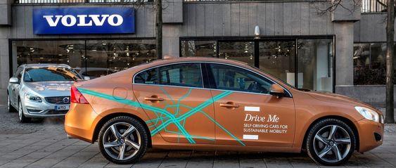 Volvo har allerede utviklet en selvstyrende bil, men mye skal videreutvikles før settes ut på veiene med kunder bak rattet.