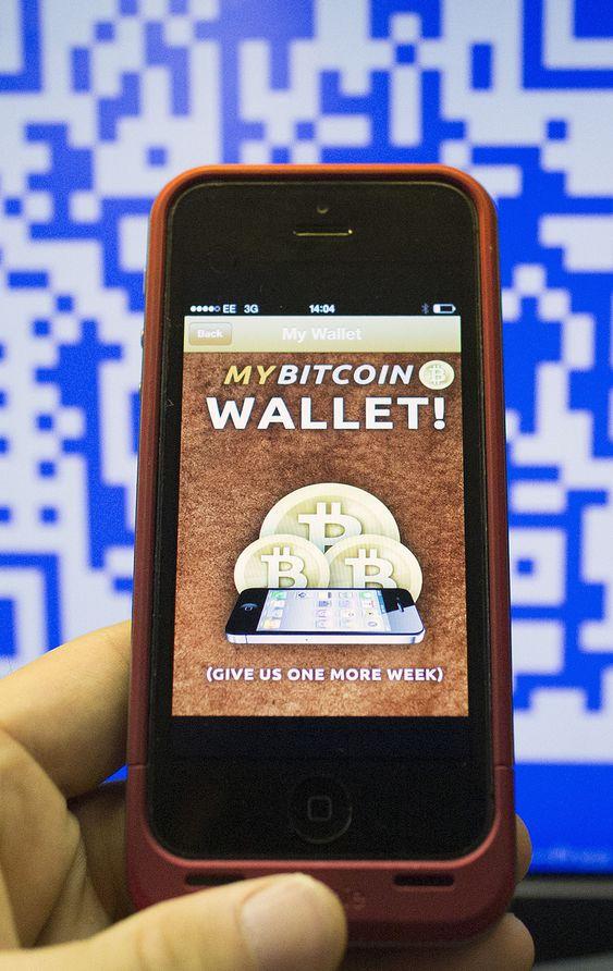Bitcoin Wallet lar deg betale innkjøp med bitcoin. Tilpassede kasseapparater finnes i London, San Francisco og New York.