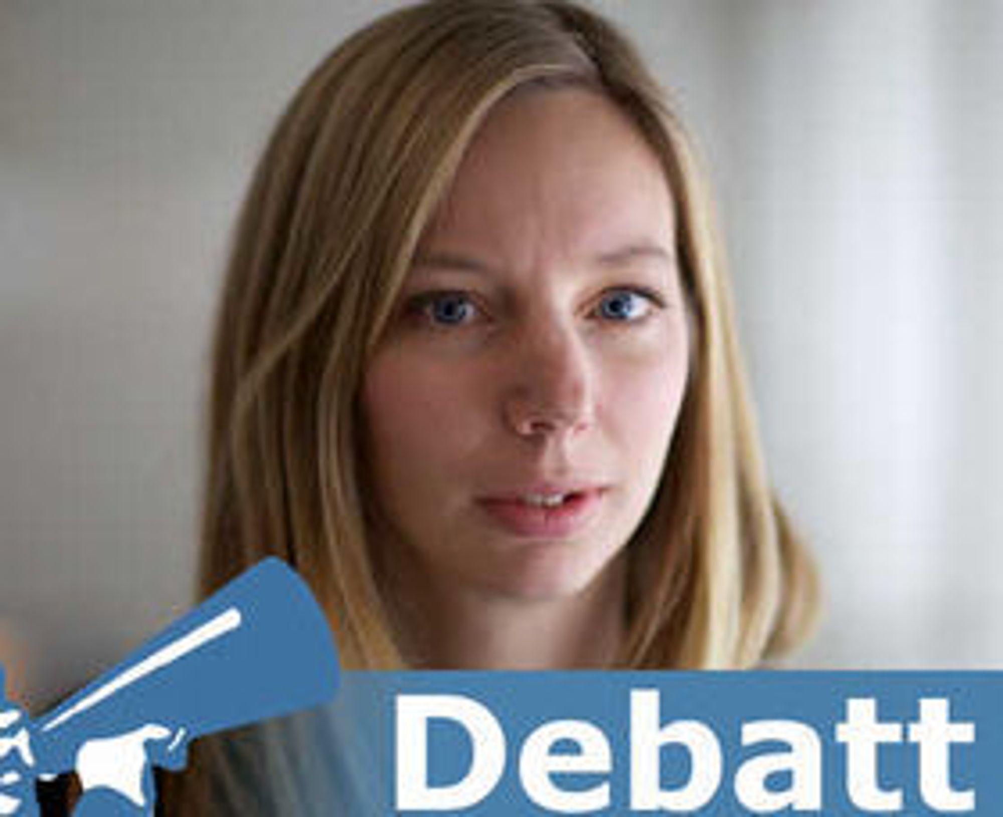 Klara Vatn er konseptutvikler i NRKs avdeling for nye medier.